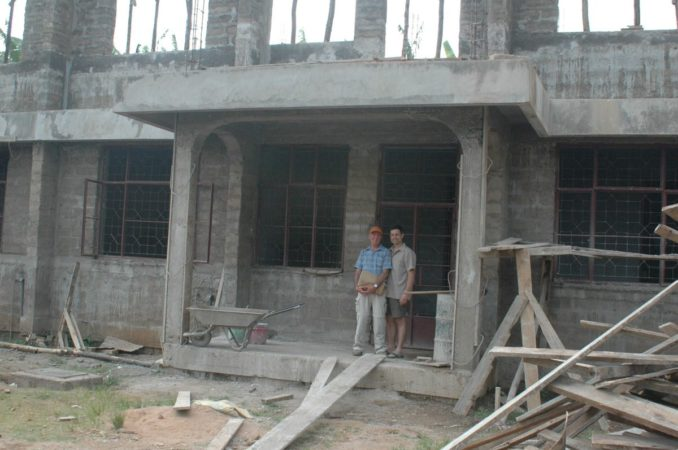 Kilema HIV Centre Under Construction