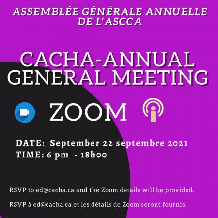 CACHA Annual General Meeting Instagram Template