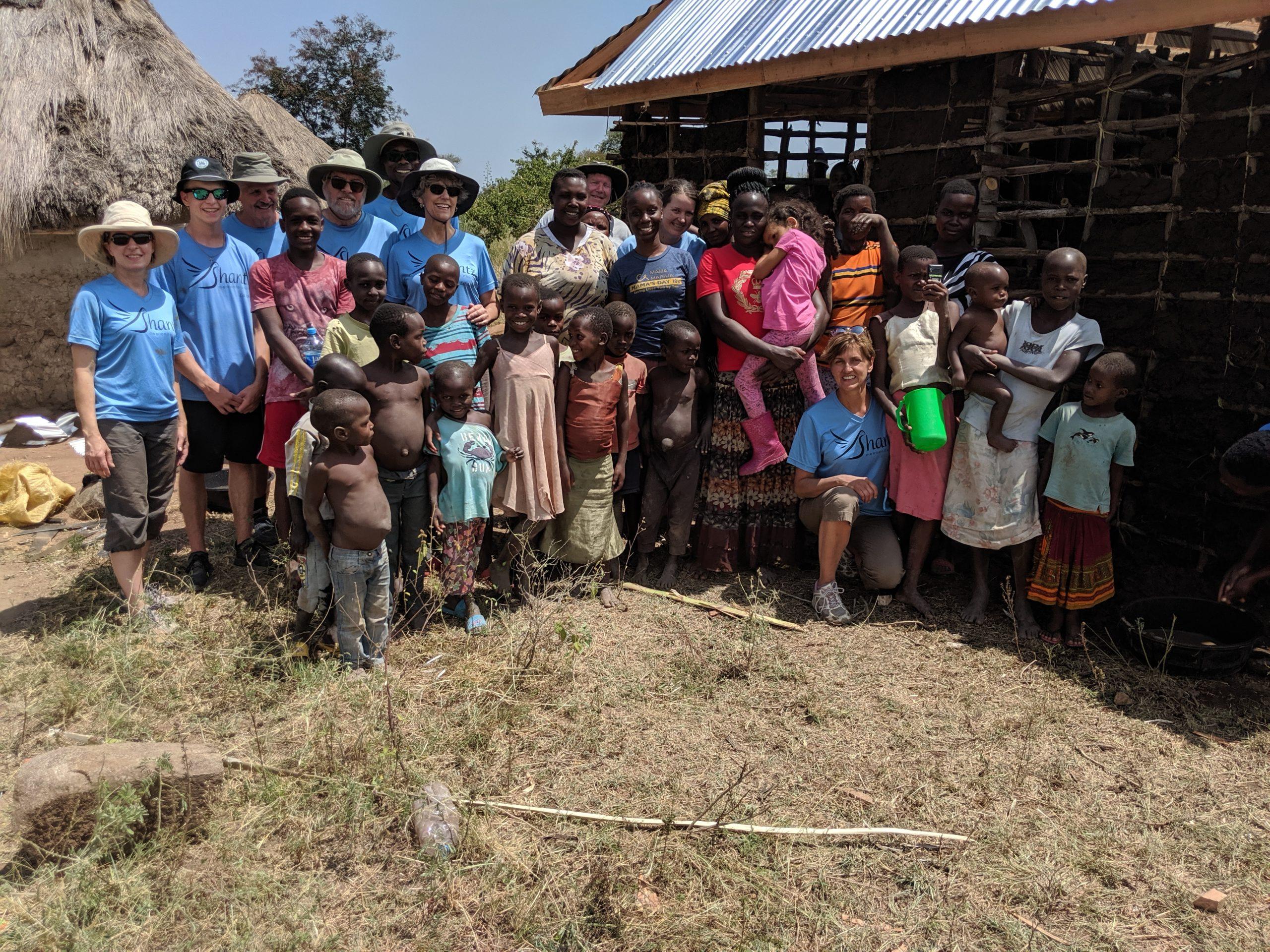 Mud hut group